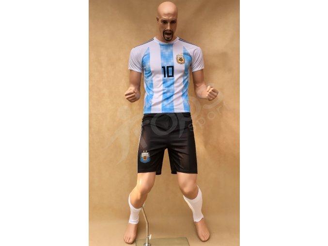 fotbalovy komplet stulpny lionel messi argentina