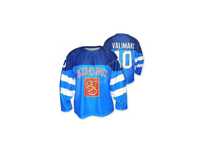 Hokejový dres Finsko 2014/2015 TOP - modrý