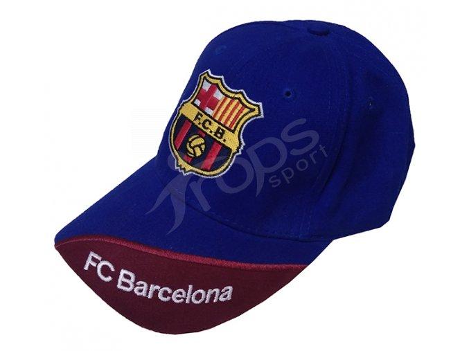 Kšiltovka FC Barcelona modrá