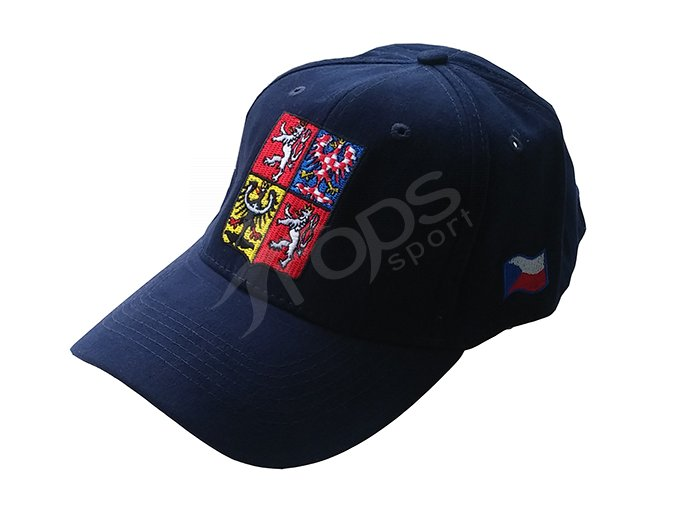 Kšiltovka ČR modrá