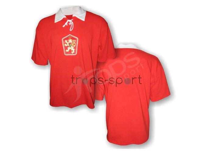 Fotbalový dres RETRO ČSSR - červený