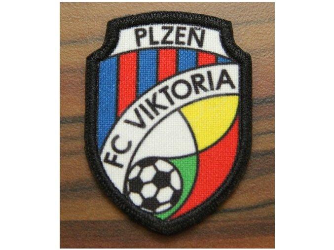 Nášivka loga FC Viktoria Plzeň sublimační