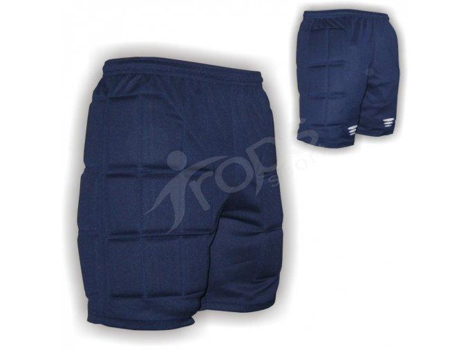 Hokejbalové kalhoty - modré