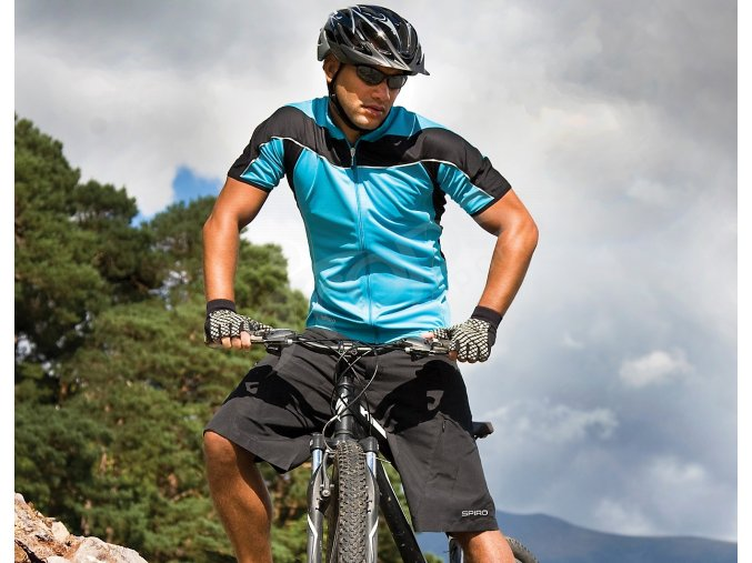 cyklisticky dres bike full modry