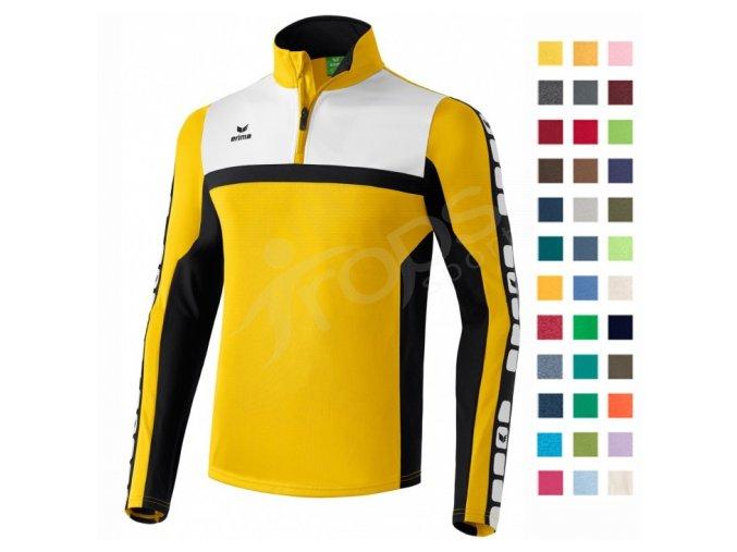 Sportovní tričko Erima 5-CUBES, dlouhý rukáv