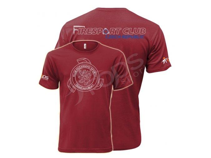 Tričko KPS, červené