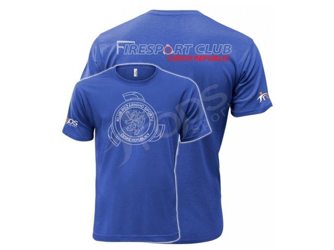 Tričko KPS, modré