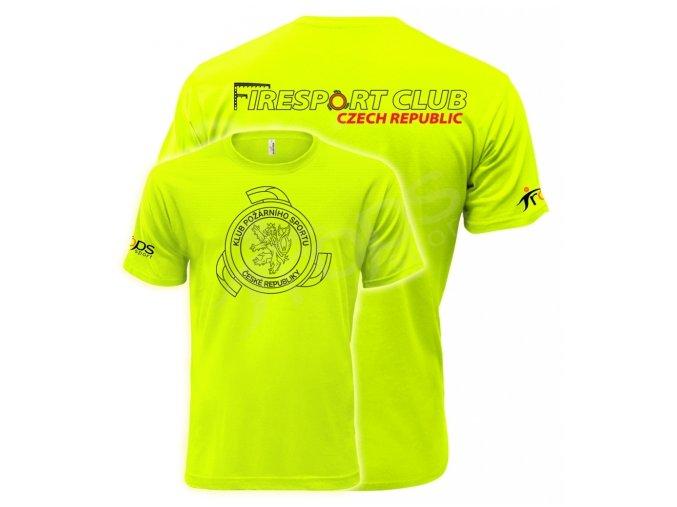 Tričko KPS, zelené
