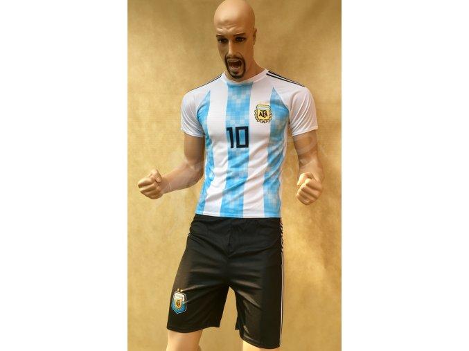 fotbalovy komplet argentina messi