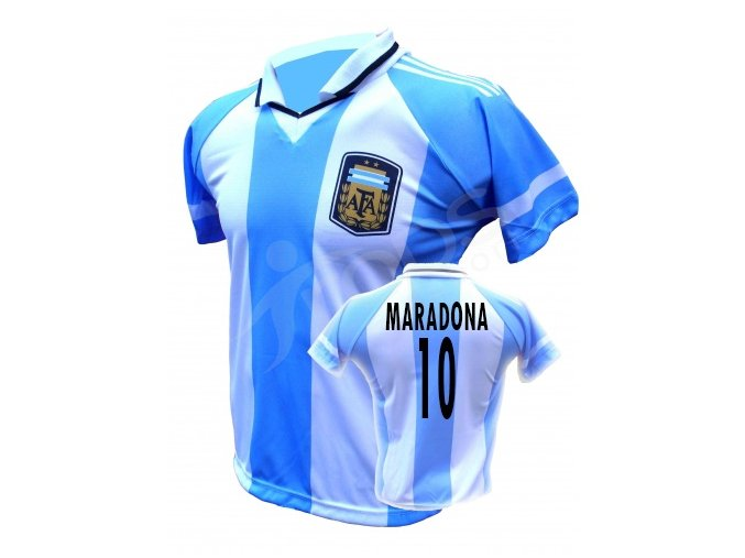 fotbalovy dres argentina maradona