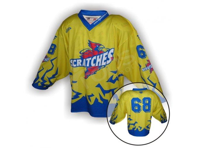 Hokejový dres SCRATCHES