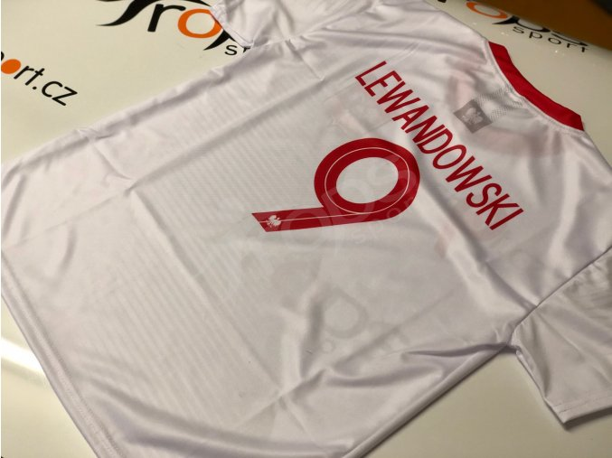 fotbalovy dres polsko robert lewandowski 1