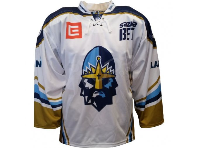 hokejovy dres rytiri kladno authentic vlastni jmeno a cislo bily