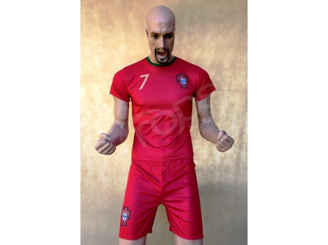 fotbalovy komplet ronaldo portugalsko