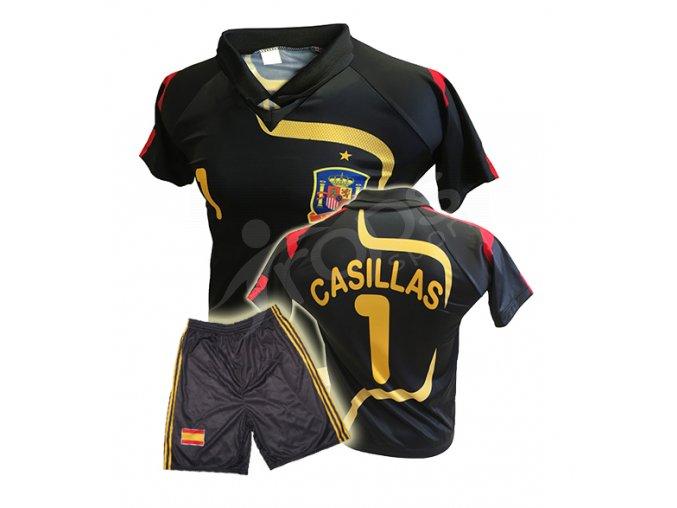 Fotbalový komplet Iker Casillas Španělsko