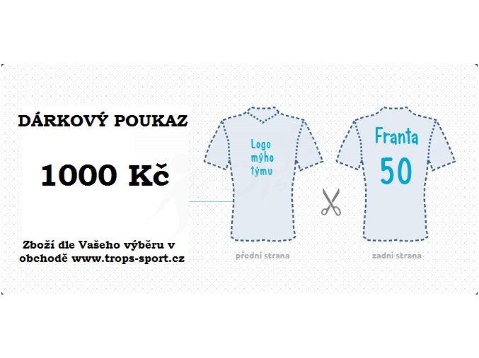 Dárkový poukaz 1000 Kč