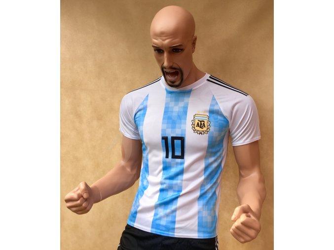 fotbalovy dres argentina lionel messi