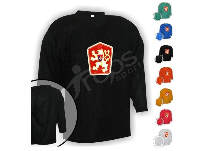 Hokejový dres tréninkový ČSSR