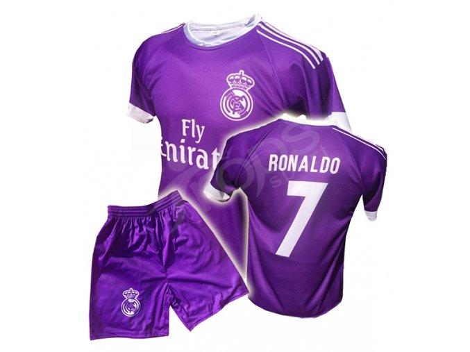real ronaldo komplet fialovy trenky