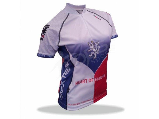 Cyklistický dres ČR - dámský