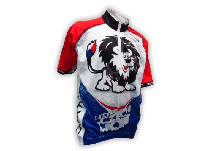 Cyklistický dres ČR - dětský