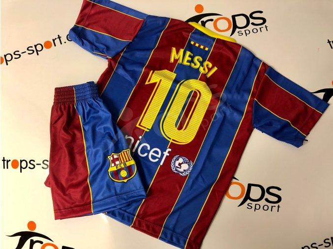 fotbalovy komplet fc barcelona lionel messi