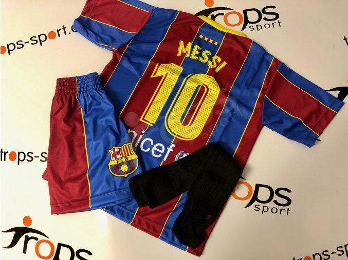 fotbalovy komplet fc barcelona lionel messi stulpny
