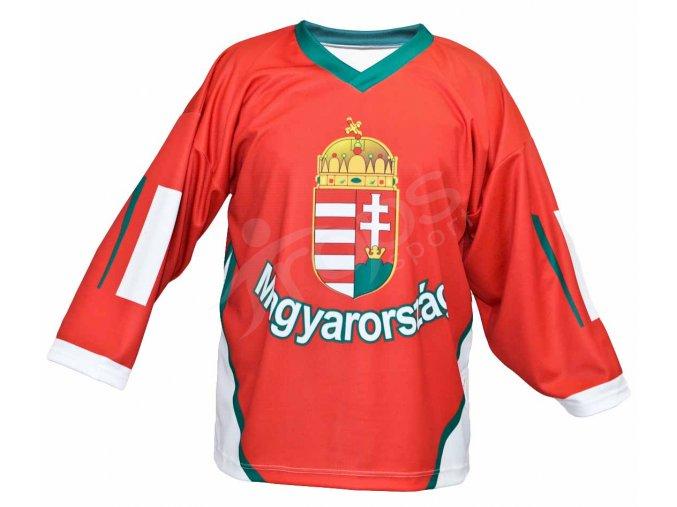 Hokejový dres Maďarsko TOP - červený
