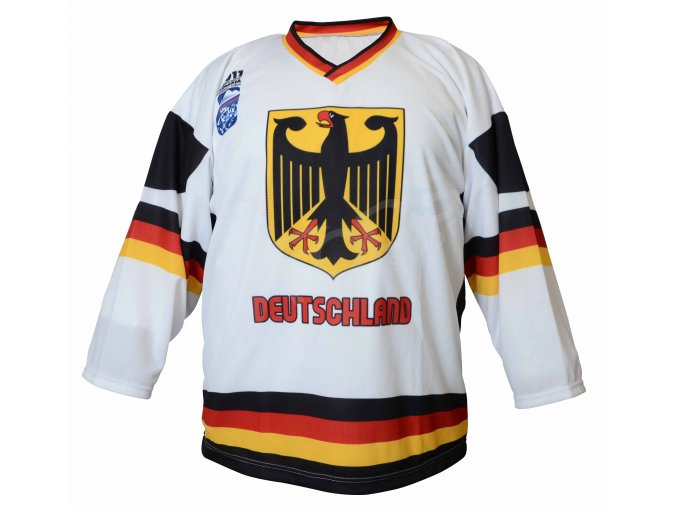 Hokejový dres Německo TOP - bílý