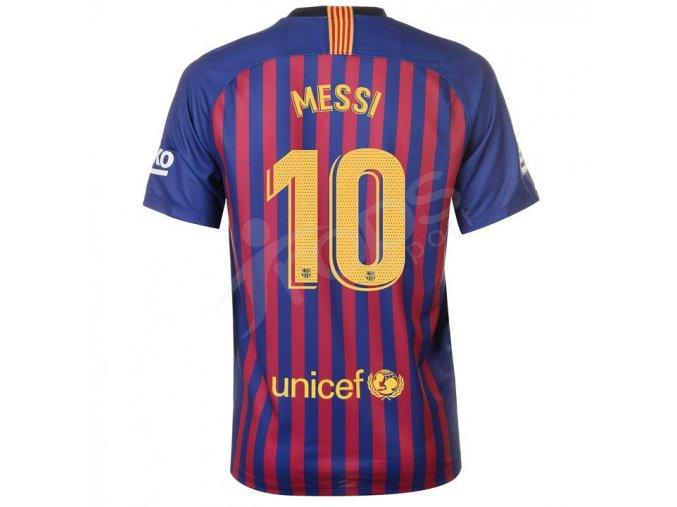 fotbalovy dres nike messi fc barcelona domaci zada