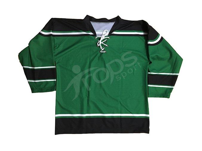 hokejovy dres top zeleny