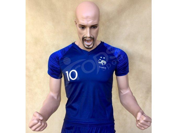 fotbalovy dres francie kylian mbappe
