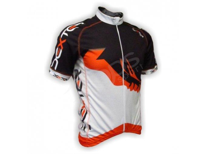 Cyklistický dres PROFI FOOT - oranžový