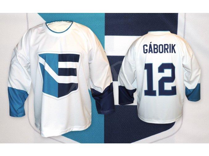 hokejovy dres team europe bily