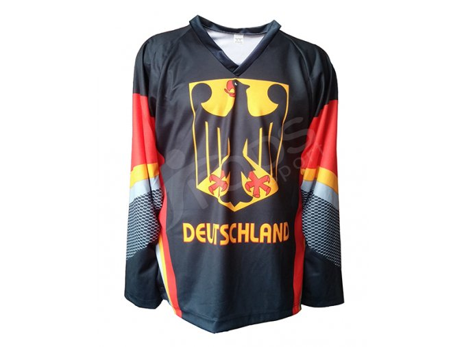 Hokejový dres NĚMECKO - černý