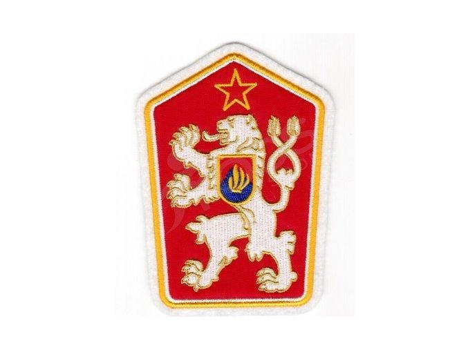 Nášivka znaku ČSSR 130 x 95 mm