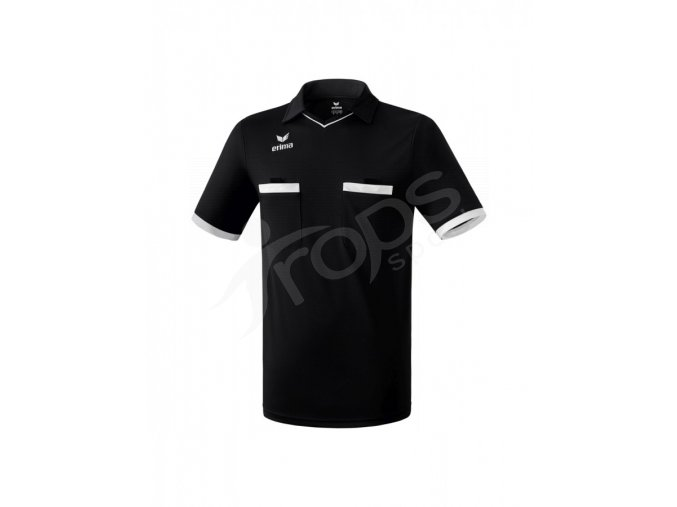 fotbalovy dres rozhodci erima saragossa cerny