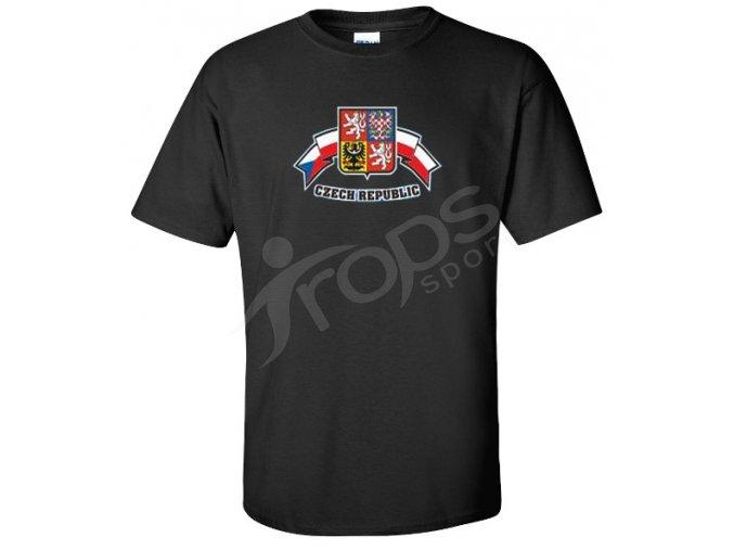 Tričko Czech Republic černé