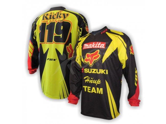 Motokrosový dres RICKY