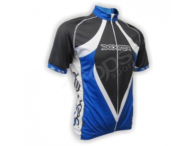 Cyklistický dres LANCE - modrý