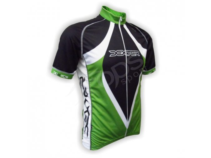 Cyklistický dres LANCE - zelený