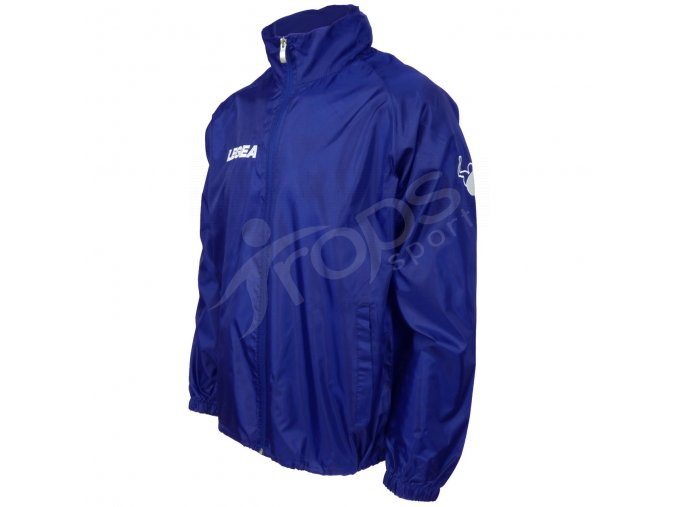 sportovni bunda legea italia vetrovka modra
