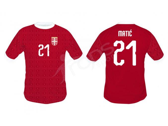 fotbalovy dres srbsko top