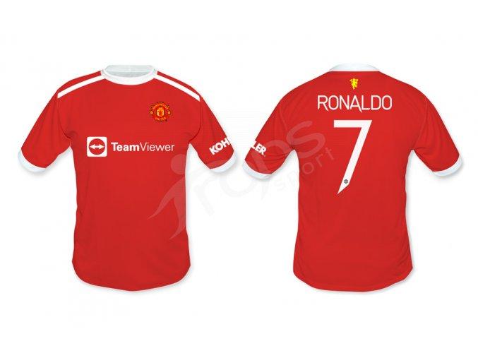 fotbalovy dres manchester united ronaldo top