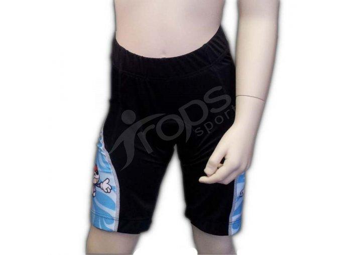 Cyklistické kalhoty SUBLI dětské - modré