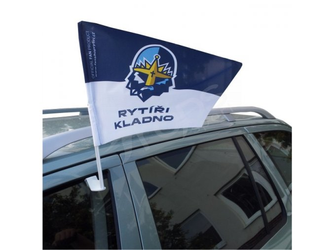 Vlajka na auto RYTÍŘI KLADNO