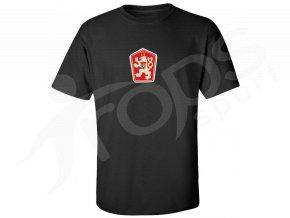 Tričko ČSSR černé