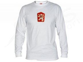 Tričko ČSSR dlouhý rukáv bílé