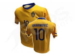 Fotbalový dres Švédsko IBRAHIMOVIČ