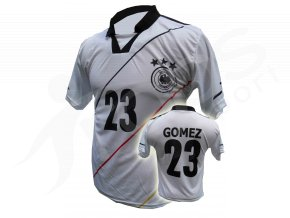 Fotbalový dres Německo GOMEZ - bílý